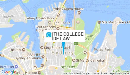 College of Law Map