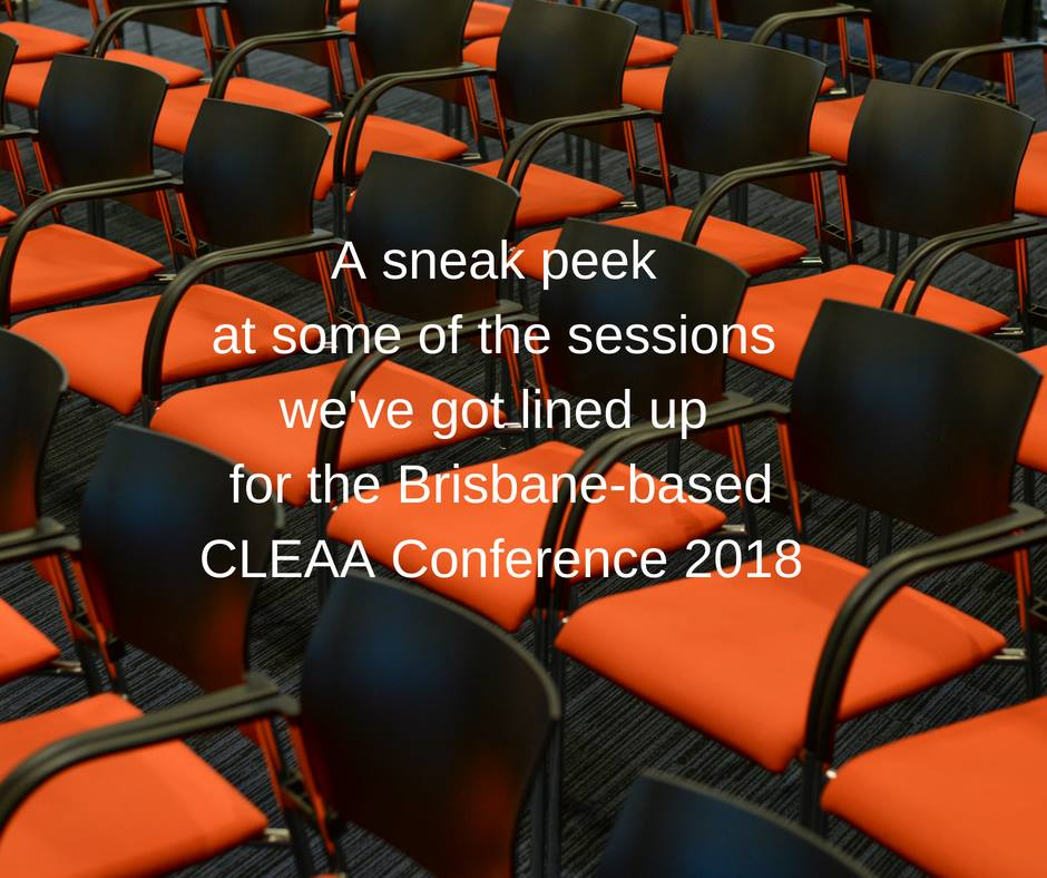 CLEAA Conference 2018 sneak peek