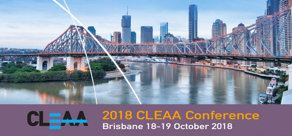 Return to CLEAA Conference Events page