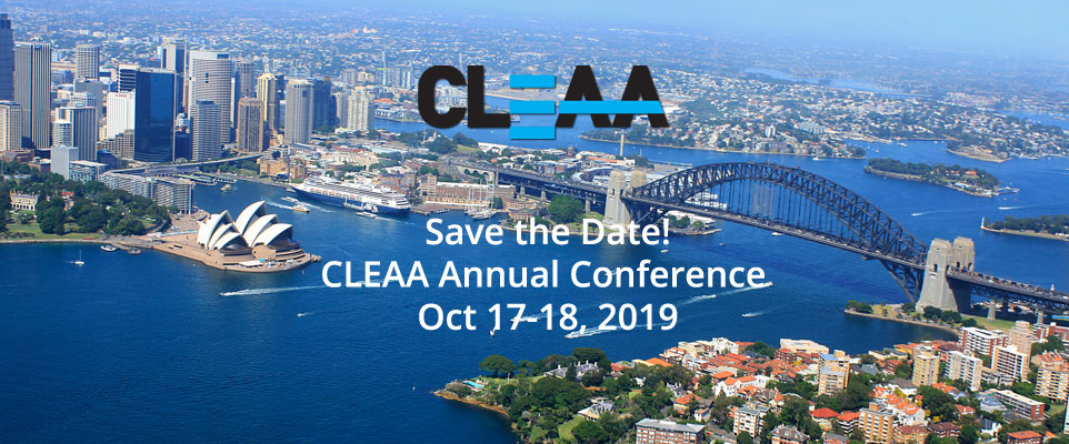 Save the Date: CLEAA Annual Conference 2019