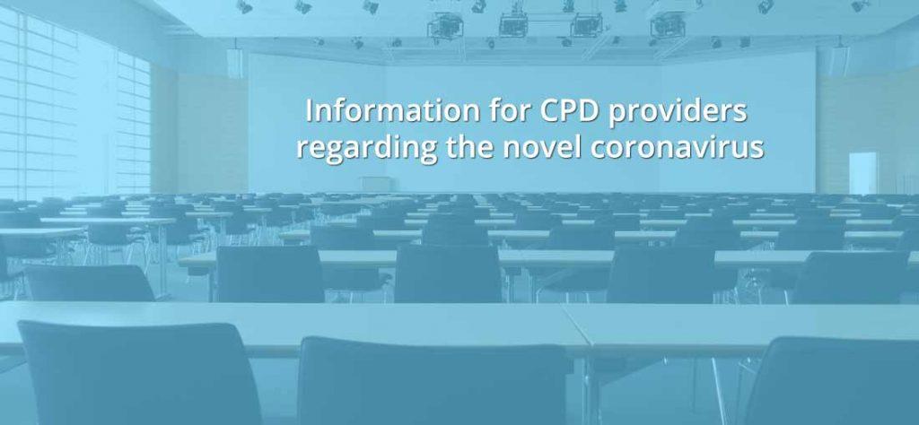 CPD Responses to novel coronavirus