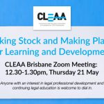 CLEAA Brisbane Online Event May 21